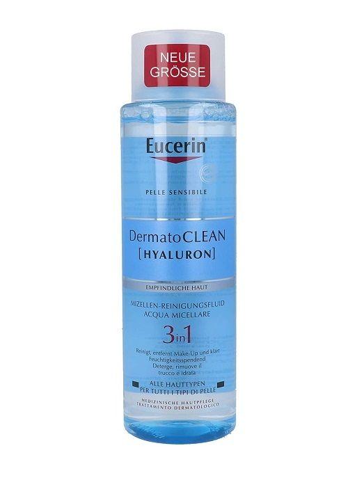 Eucerin 3合1卸妝水 400ml   DermatoCLEAN HYALURON Mizellen-Reinigungsfluid