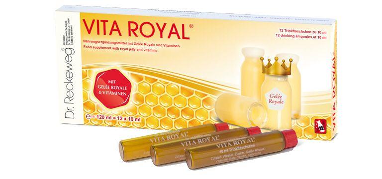 Dr. Reckeweg vita royal 雷博士 蜂王精 12*10ml  無酒精