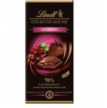Lindt  蔓越莓果餡70%巧克力-cranbe...