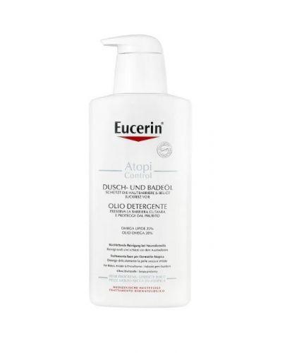 Eucerin 異位性皮膚炎淋浴和沐浴油 400m...