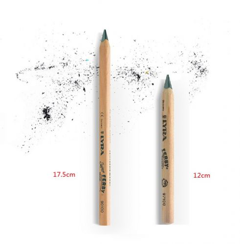 LYRA Ferby 粗款三角原木學習鉛筆