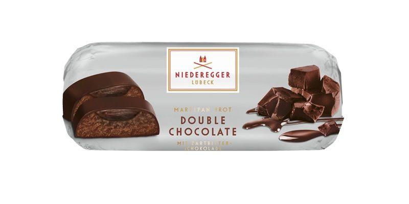 Niederegger尼德耶 杏仁巧克力糕(白蘭地雙巧克力口味) 75g