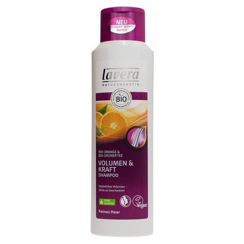 Lavera 有機天然橘子綠茶能量洗髮精 250ml