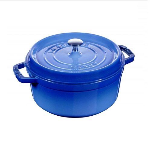 Staub 漸層藍 24cm /3.8L 琺瑯鑄鐵燉鍋 1102476