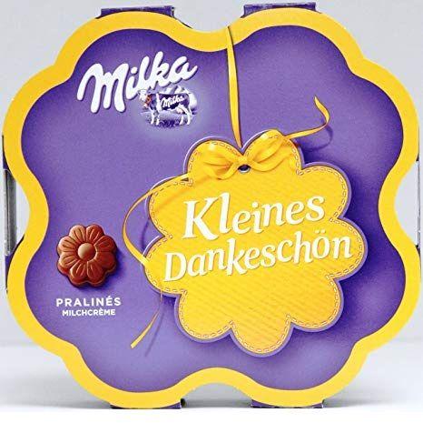 Milka dankschön 謝謝你迷你巧克力 ...