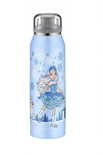 Alfi保溫水壺0.5L / 藍色滑冰公主(灰色吸...