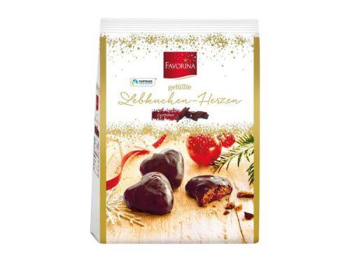 Favorina 愛心薑餅巧克力 300g