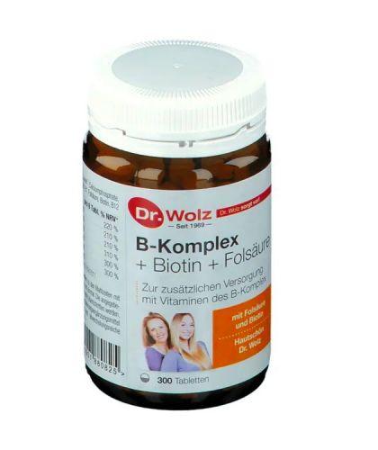Dr.Wolz 維他命B群 葉酸配方  B群+生物...
