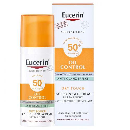Eucerin  控油清爽型防曬凝霜 SPF 50...