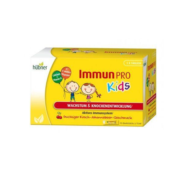 Hübner Immun PRO kids 兒童維他礦物綜合配方 15ml*15入