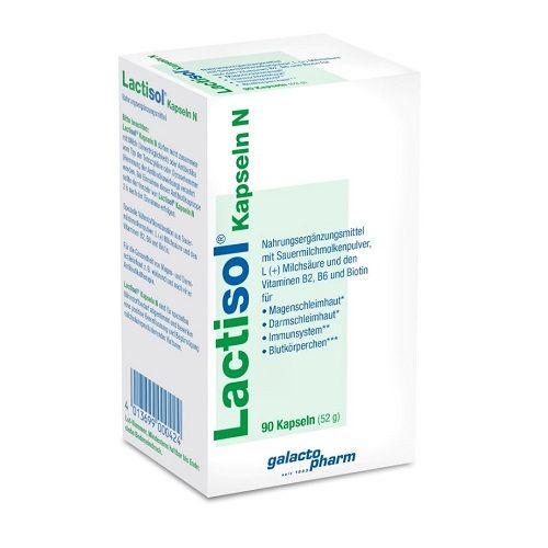 Lactisol® Kapseln N 樂體舒 膠囊 N 90顆