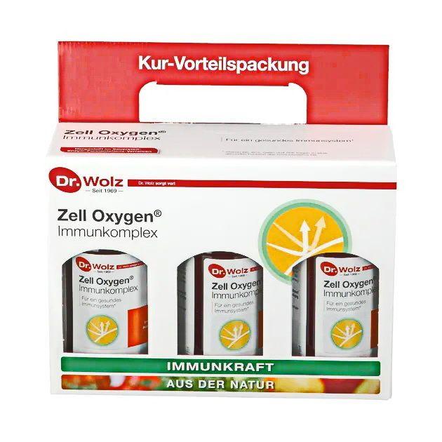 Dr. Wolz ZELL OXYGEN 伍兹博士 蔬果酵素  3X250ml  新裝上市