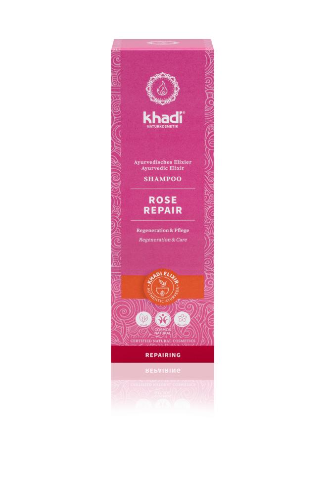 khadi 天然玫瑰修護洗髮精 Rose Repair Shampoo 200ml